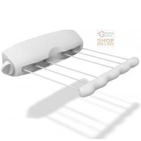 GIMI WALL-MOUNTED CLOTHING RACK MODEL ROTOR 6 IN RESIN