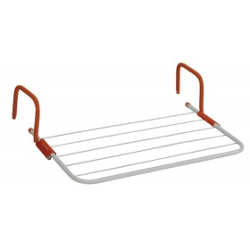BALCONY CLOTHES RAIL PLASTICATED STEEL CM.54X33