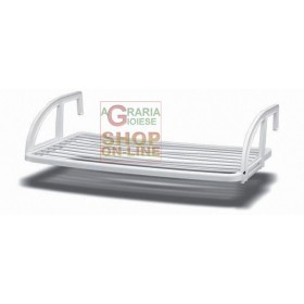BALCONY CLOTHES RACK IN RESIN CM. 110X60X23