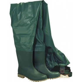 PVC HULL BOOT WITH GREEN PARA SOLE TG 39 47