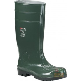 BOOT IN PVC TOE AND LAMINA COLOR GREEN TG 39 48
