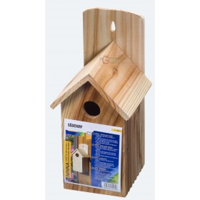 STOCKER HOUSE NINNA FOR BIRDS IN SOLID WOOD CM. 13 x 13 xh 26