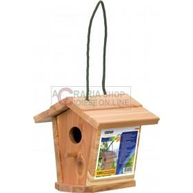STOCKER TIFFI HOUSE FOR BIRDS IN STURDY WOOD CM. 17 x 17 xh 17.5