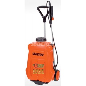 BACKPACK PUMP AND ELECTRIC TROLLEY STOCKER LT. 16