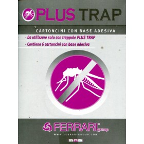 ATTRACTIVE ADHESIVE CARDS FOR EXTERMINATORS PLUS TRAP