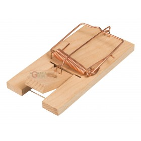 MICE TRAP STOCKER WITH WOODEN BASE 1 PCS LARGE