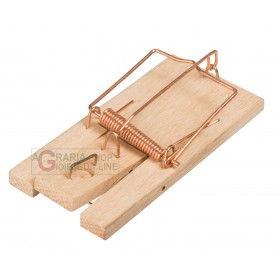 2 PCS SMALL MICE TRAP STOCKER WITH WOODEN BASE