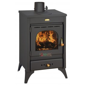 WOOD AND COAL STOVE IN HIGH THICKNESS STEEL MODEL KIR9 / 12KW