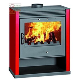 STEEL WOOD STOVE MOD. RUBIN RED-ANTHRACITE