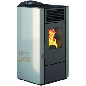 PELLET STOVE FIRE POINT LORY-10 KW. 9.0 IVORY COLOR