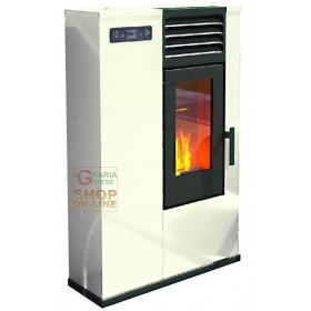 PELLET STOVE FIRE POINT SUSY SLIM KW. 7.5 (BR) IVORY