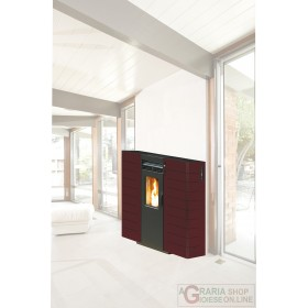 PELLET STOVE KING SLIM CHANNEL. KW10 BORD.