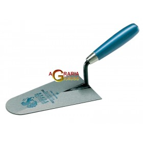 AUSONIA Trowel with round tip and wooden handle 20 cm