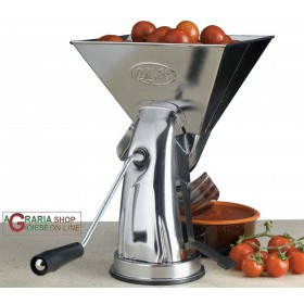 SUPER GULLIVER TOMATO SAUCER IN STAINLESS STEEL TOMATO SQUEEZER TIC TAC WITH SUCKER