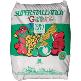 SUPERSTALLATIC PELLETED BOVINE AND EQUINE MANURE ALLOWED IN ORGANIC AGRICULTURE kg. 25