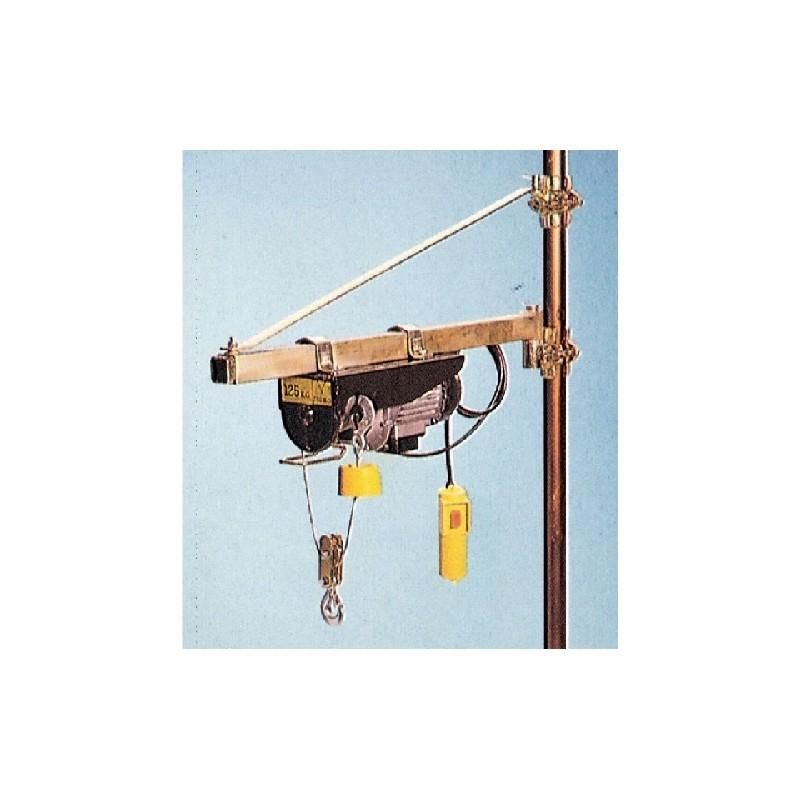 Vigor paranchi elettrici e manuale paranco elettrico for Braccio per paranco elettrico