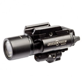 SUREFIRE LED TORCH AND LASER WEAPONLIGHT WITH X400 PISTOL ATTACHMENT