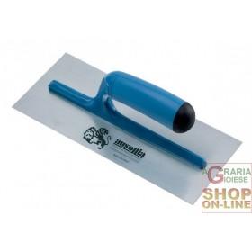 AUSONIA TROWEL IN SMOOTH STEEL PLASTIC HANDLE CM. 28x12