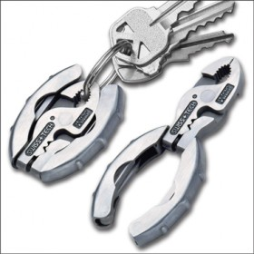 SWISSTECH MICRO-PLUS EX 9 STAINLESS STEEL KEY RING CLAMP
