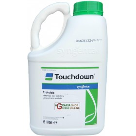 SYNGENTA SYSTEMIC HERBICIDE TOUCHDOWN BASED ON GLYPHOSATE LT. 5