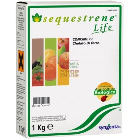 SYNGENTA SEQUESTRENE LIFE IRON CHELATE KG. 1