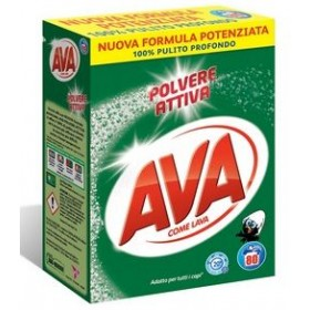 AVA DRUM LAUNDRY DETERGENT POWDER WASHING MACHINE 80 WASHES