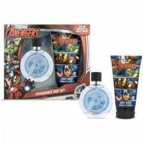 AVENGERS MARVEL SET DUO PERFUME AND BATH FOAM
