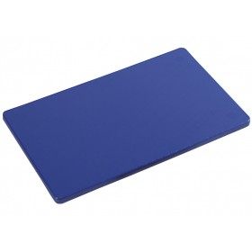 Polyethylene cutting board for kitchen Kesper HACCP BLUE color