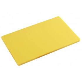 Tagliere il polietilene per cucina Kesper HACCP colore giallo