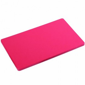 Polyethylene cutting board for kitchen Kesper HACCP red color