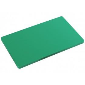 Kesper HACCP green polyethylene cutting board for kitchen cm.