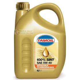 TAMOIL SPECIAL SINT LUBRICANT OIL 5W 40 LT. 4
