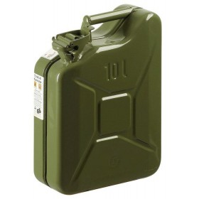 METAL TANK FOR FUEL APPROVED GREEN LT. 10