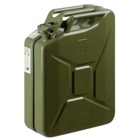 METAL TANK FOR FUEL APPROVED GREEN LT. 20