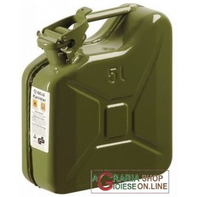 METAL TANK FOR FUEL APPROVED GREEN LT. 5