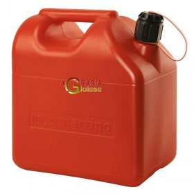 RED PLASTIC TANK FOR FUEL APPROVED LT. 10