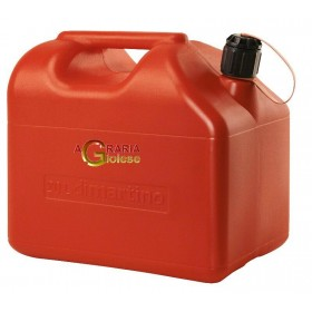 RED PLASTIC TANK FOR FUEL APPROVED LT. 20