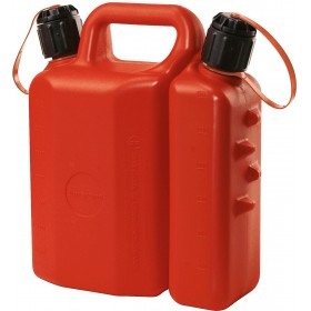 TANK FOR TRANSPORTING FUEL GASOLINE OIL MIXTURE DOUBLE USE FOR APPROVED CHAINSAW