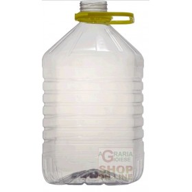 PET PLASTIC TANK FOR WINE OIL LT. 5