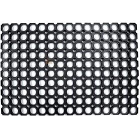COMPONIBLE ROBUSTUS DOORMAT MAT PVC BLACK CM. 40 X 70