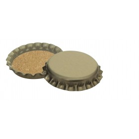 CROWN CAPS FOR BOTTLES WITH CORK PCS. 100