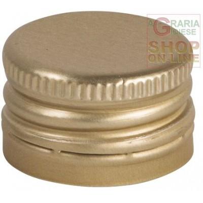 SCREW CAPS FOR BOTTLES MM. 31.5 X 24