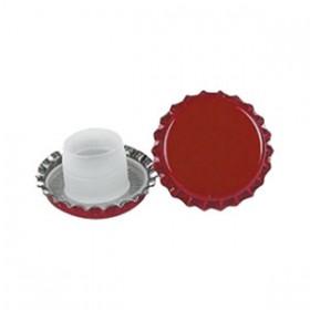 RED BIDUL LONG CROWN CAPS mm. 29 PCS. 200
