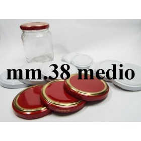CAP 38 MEDIUM FOR GLASS JAR