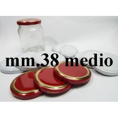 CAP 38 MEDIUM FOR GLASS JAR
