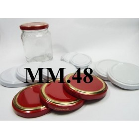 CAP 48 FOR GLASS JAR pcs. 20