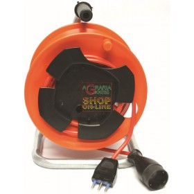GARDEN CABLE REEL SOCKET WITH 16A PLUG WITH T 3X1.5 MT. 25 GD