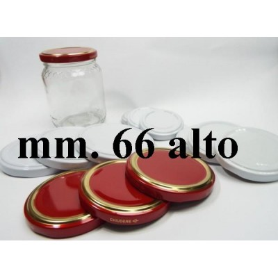 HIGH CAP 66 FOR GLASS JAR