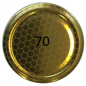 70 HIVE CAP FOR GLASS JAR