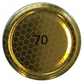 70 HIVE CAP FOR GLASS JAR